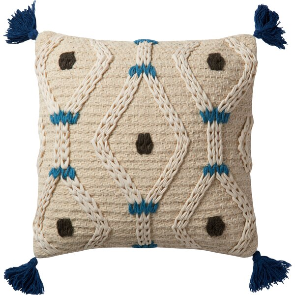 Desor Throw Pillow Cover by Bungalow Rose
