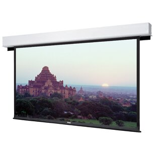 Advantage Deluxe Electrol Matte White Manual Projection Screen Da-Lite