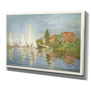 Chapelton at Argenteuilby Claude Monet Painting on Wrapped Canvas by Wexford Home