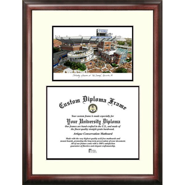 NCAA Florida University, the Swamp Scholar Diploma Picture Frame by Campus Images