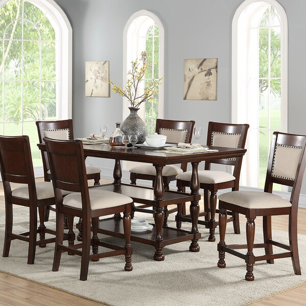 Harriett 7 Piece Pub Table Set By Canora Grey Discount