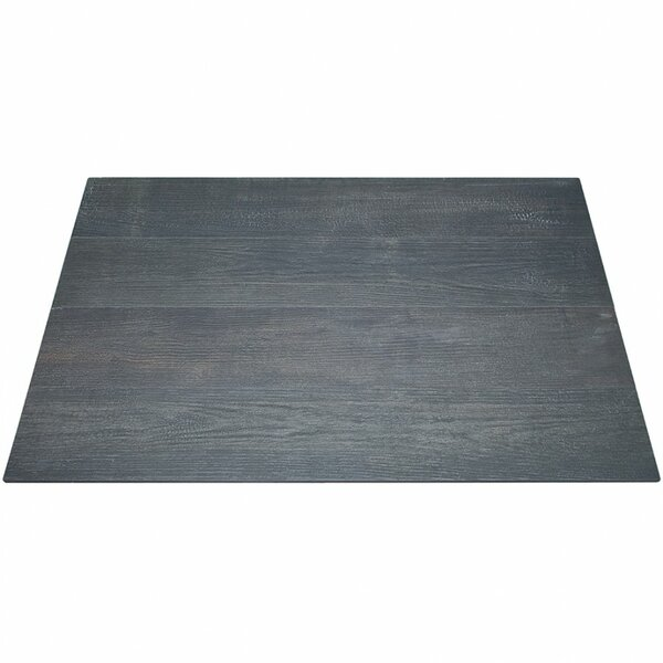 Naha 8 x 48 Porcelain Wood Look Tile in Carbon by Splashback Tile