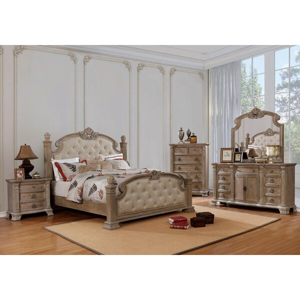 Whitchurch Queen 5 Piece Bedroom Set by Astoria Grand