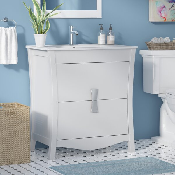 Cataldo Solid Wood Floor Mount 30 Single Bathroom Vanity Set by Royal Purple Bath Kitchen