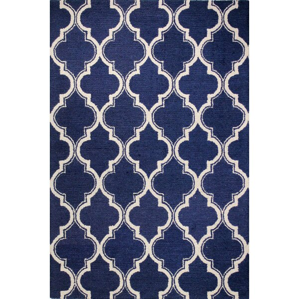 Rajapur Navy Area Rug by Bashian Rugs