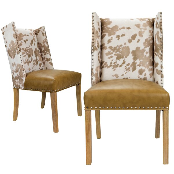 Renn Upholstered Dining Chair (Set of 2) by Loon Peak