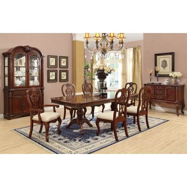 Cavalier 7 Piece Extendable Dining Set by Astoria Grand