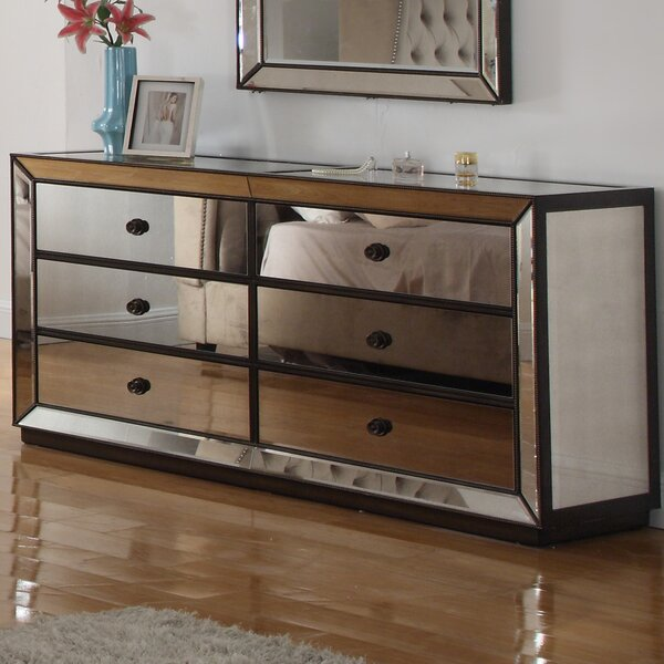 Randle 6 Drawer Standard Dresser/Chest by Rosdorf Park