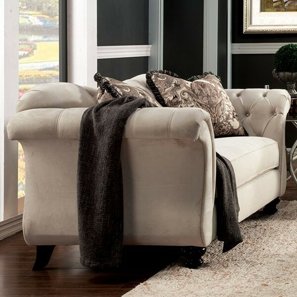 Online Review Himmelmann Chesterfield Loveseat by Darby Home Co by Darby Home Co