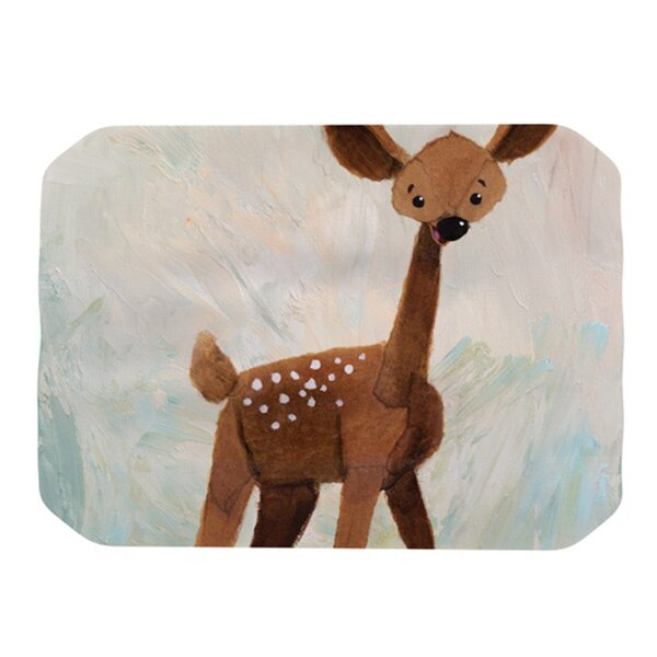 Oh Deer Placemat by KESS InHouse