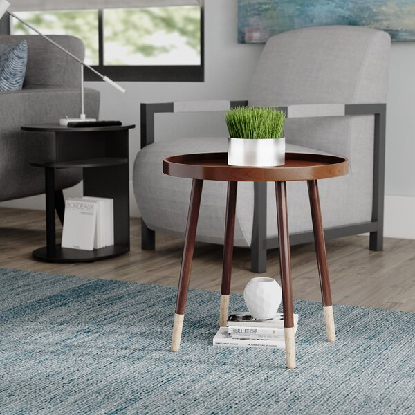 Boerner End Table by Wrought Studio