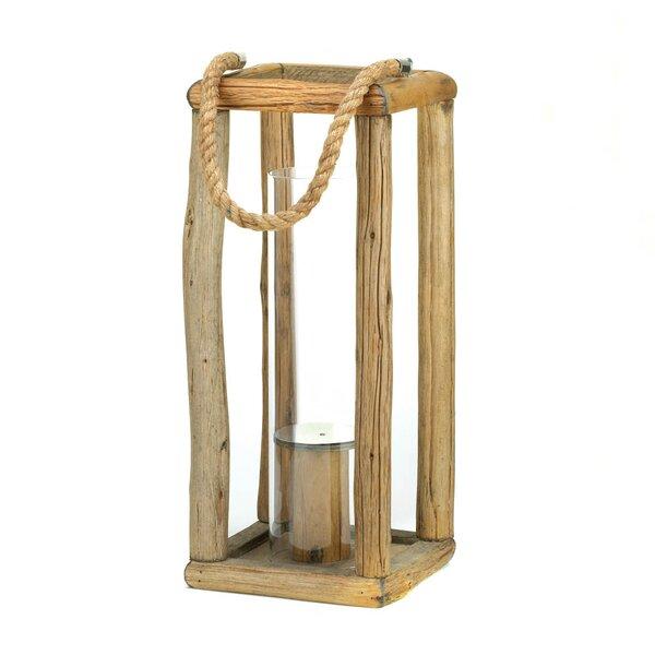 Sylvan Wooden Lantern by Zingz & Thingz