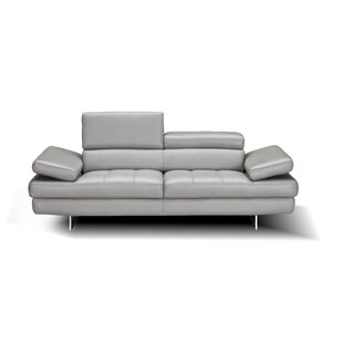 Maxwell Leather Loveseat