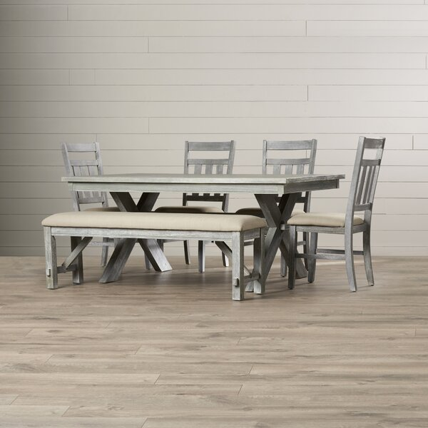 Quentin 6 Piece Dining Set by Lark Manor