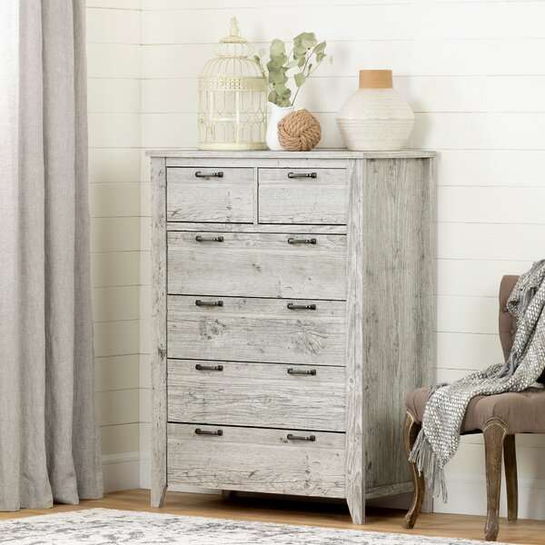 Lionel 6 Drawer Combo dresser by South Shore