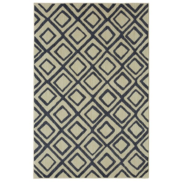 Mohawk Studio Montego Indigo/Beige Area Rug by Under the Canopy