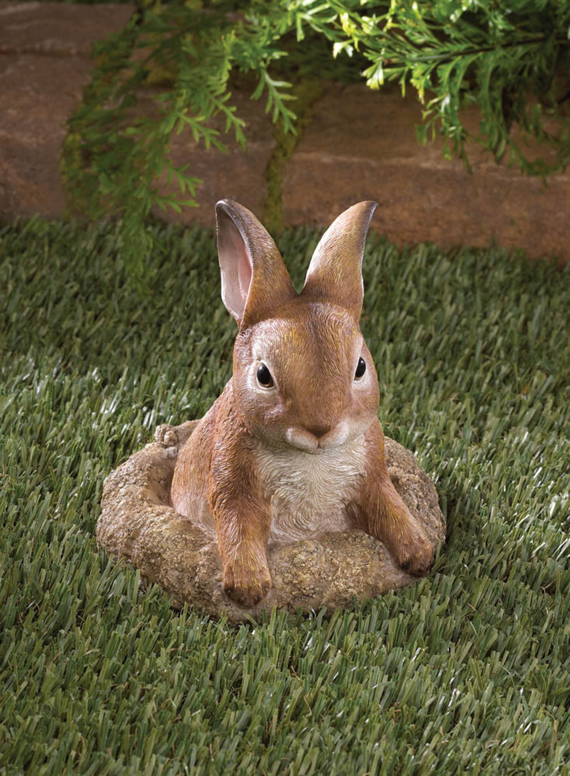 August Grove Jaylah Curious Bunny Garden Decor Statue Reviews Wayfair