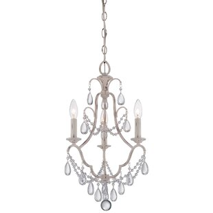 Best Reviews Alderson 3-Light Candle Style Chandelier By Ophelia & Co.