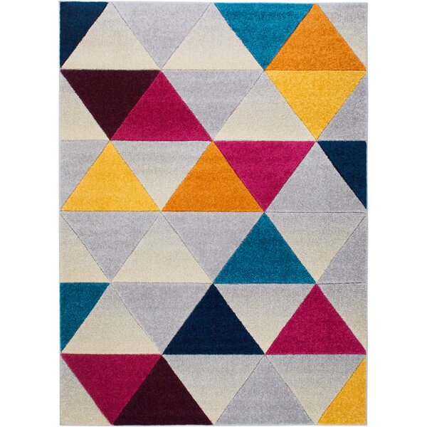 Prendergast Gray Area Rug by Wrought Studio