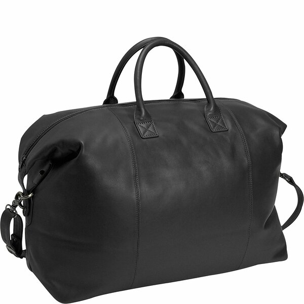 Royce Leather Royce Leather Luxury Travel Duffel Overnight Bag in ...