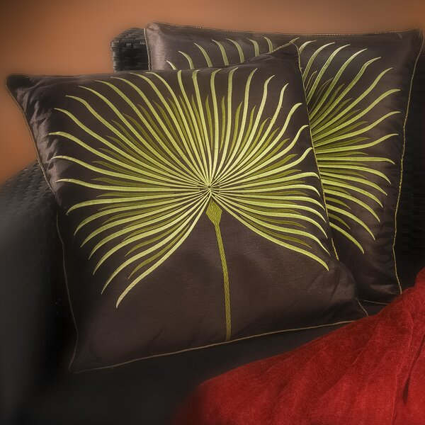 Home Loft Concepts Anna Embroidered Throw Pillow & Reviews Wayfair