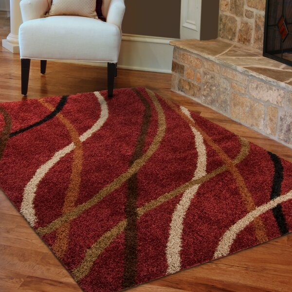 Threadbind Brookhaven Red Area Rug Amp Reviews Wayfair