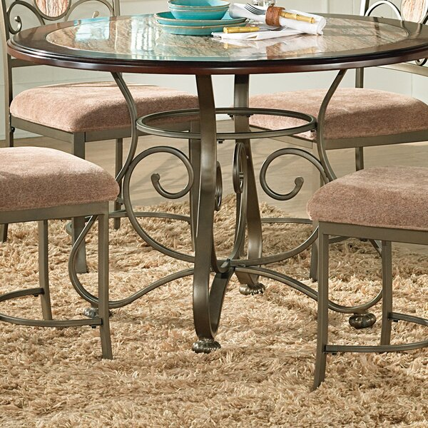 Wrought Iron Kitchen & Dining Tables You'll Love   Wayfair