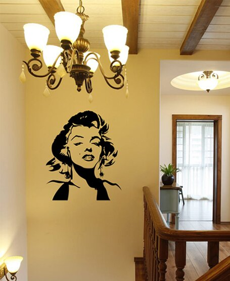 Pop Decors Marilyn Monroe Wall Mural | Wayfair.ca