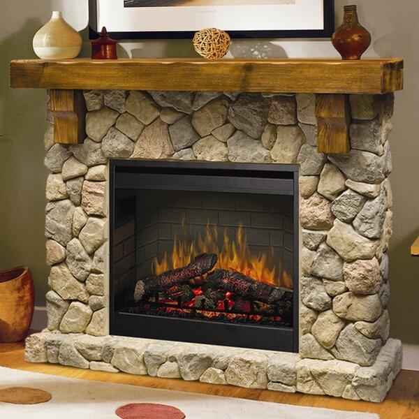 - Dimplex Fieldstone Electric Fireplace & Reviews Wayfair