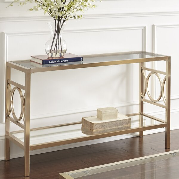 Trade Stands Glastonbury : Mercer ™ glastonbury console table reviews wayfair