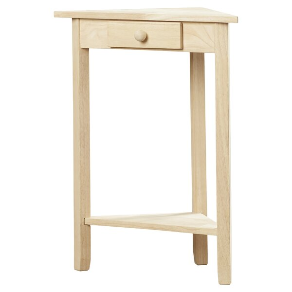 Superb August Grove Imogene Corner Side Table U0026 Reviews | Wayfair.ca