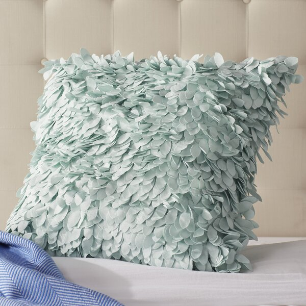 How To Make A Throw Pillow With Ruffle : House of Hampton Luanna Ruffle Throw Pillow & Reviews Wayfair