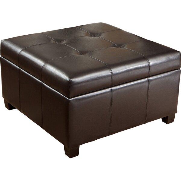 noblehouse hocker rica aus leder mit stauraum. Black Bedroom Furniture Sets. Home Design Ideas
