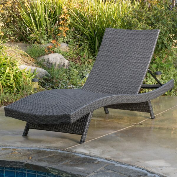 Outdoor chaise lounges you 39 ll love for Adams 5 position chaise lounge white