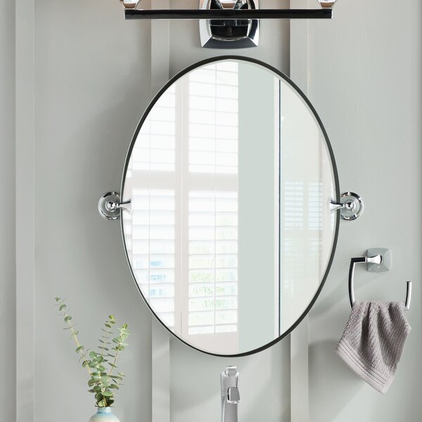 Moen Glenshire Wall Mirror Amp Reviews Wayfair