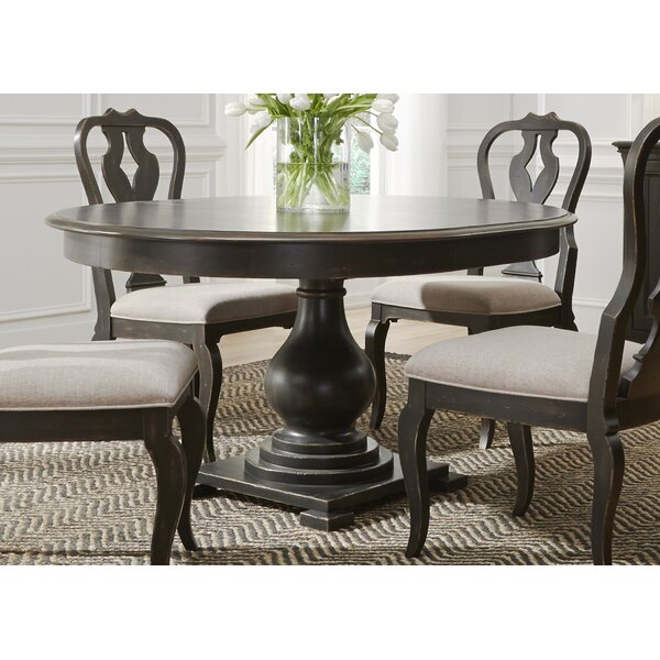 Amazing Darya Solid Wood Dining Table By Darby Home Co Savings