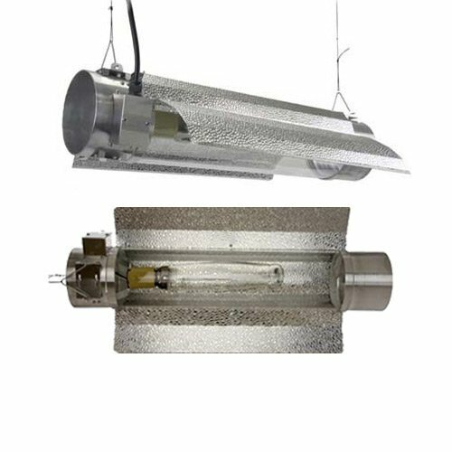 600 Watt HPS MH Tube Enclosed Grow Light Hood Reflector by Virtual Sun