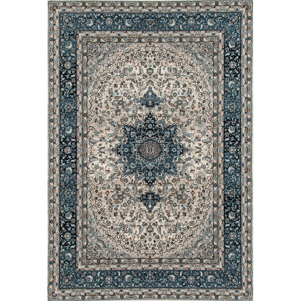 Elite Blue Area Rug by World Rug Gallery