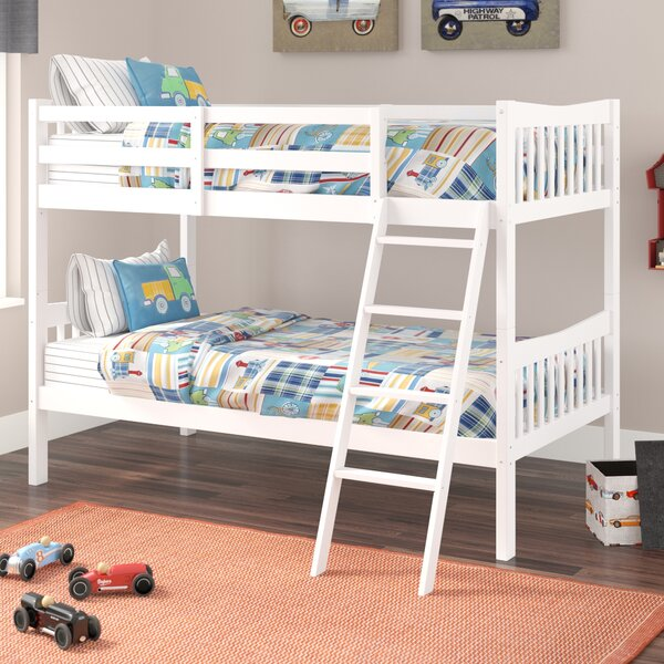 Westerman Twin Over Twin Bunk Bed By Viv + Rae by Viv + Rae Today Only Sale