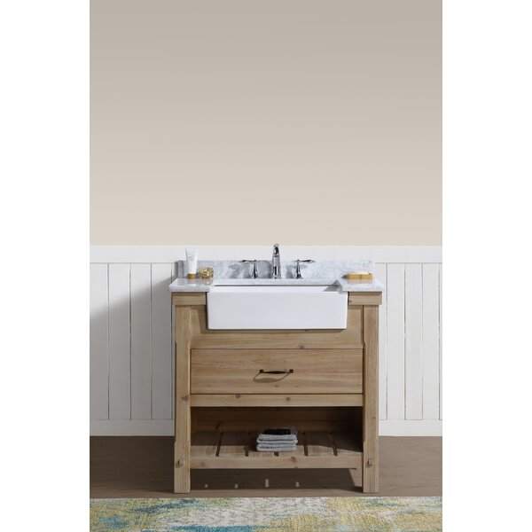 Loftin 36 Single Bathroom Vanity Set by Union Rust