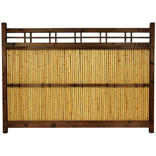4 ft. H x 5.5 ft. W Japanese Kumo Fence Panel by Oriental Furniture