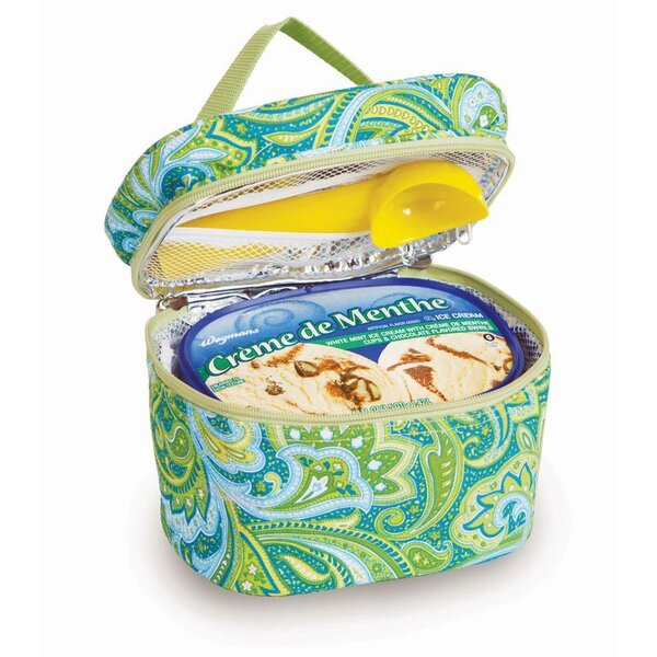 Ice Cream Carrier 48 Oz. Food Storage Container by Picnic Plus