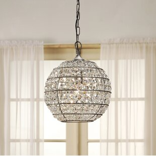 Charles 1-Light Crystal Pendant By House of Hampton