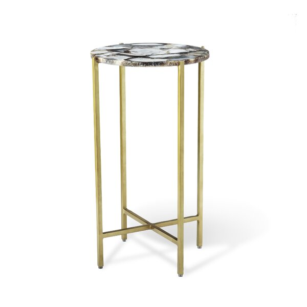 Leonie Agate End Table By Interlude