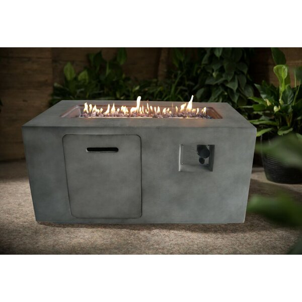 Suzano Propane Fire Pit by Crawford & Burke