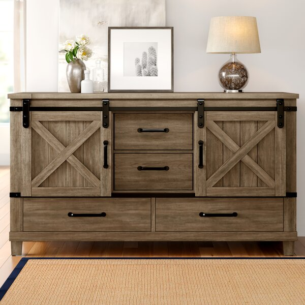 Brodnax 4 Drawer Chest by Three Posts