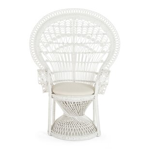 Carin Rattan Armchair By Bayou Breeze