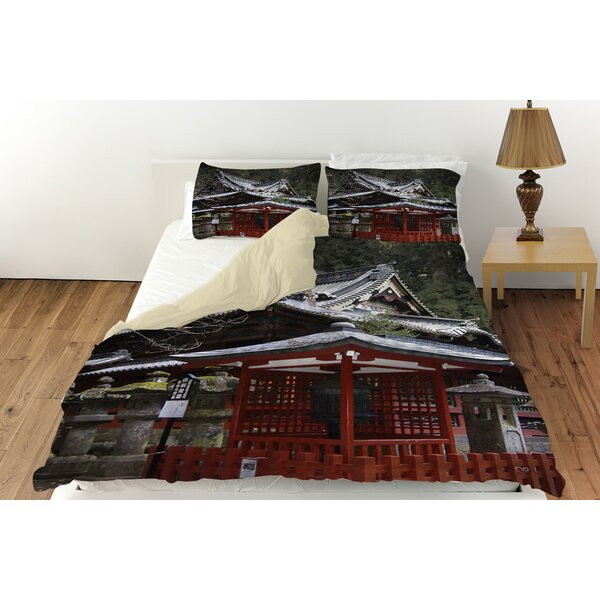Nikko Monastery Building Duvet Cover Collection