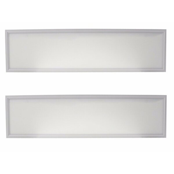 Panel Flush Mount (Set of 2) by Elegant Lighting