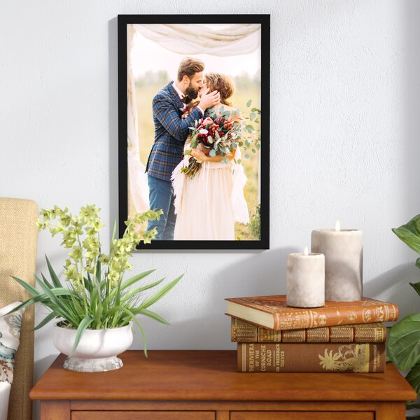 Matte Wood Picture Frame by Charlton Home